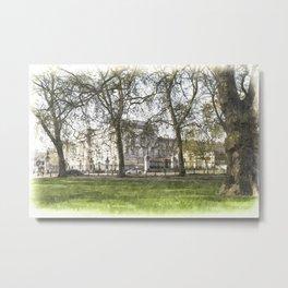 Buckingham Palace Art Metal Print