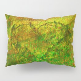 The Heart - Painting by Brian Vegas Pillow Sham