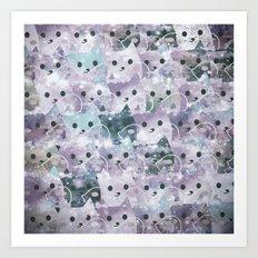 cats-138 Art Print