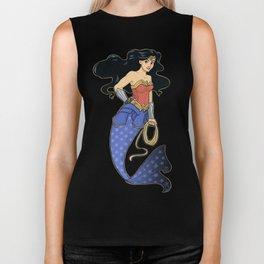 Wonder Mermaid Biker Tank