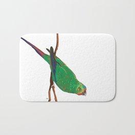 Swift Green Parrot Bath Mat