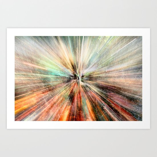 Warp Speed Art Print