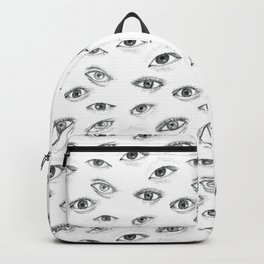 an eye for an eye only leads to more blindness Backpack
