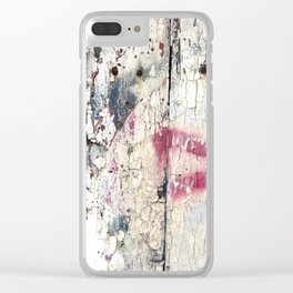 Delightful Decay Clear iPhone Case