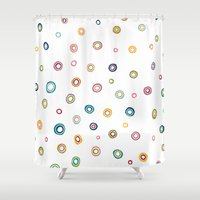 happiness Shower Curtains featuring Happiness by Shakkedbaram