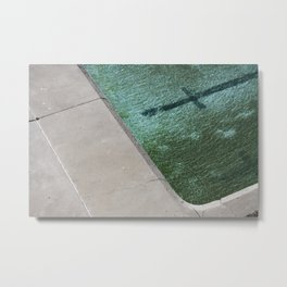 Clovelly Pool Metal Print