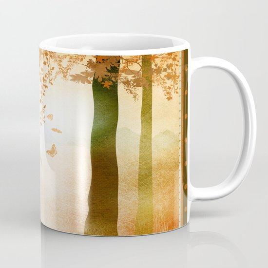 sunrise in autumn Coffee Mug