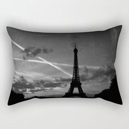Parisian Sunset Rectangular Pillow