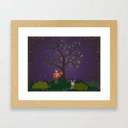 a midsummer night's seen Framed Art Print