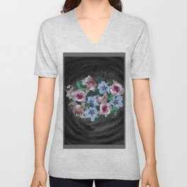 Bouquet of Love Unisex V-Neck