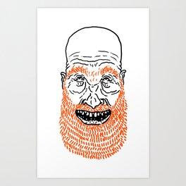 beardy Art Print