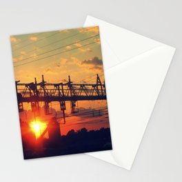 Along The Tracks Stationery Cards