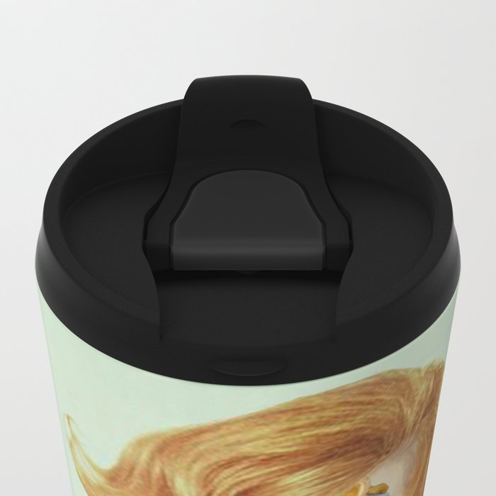 PAPER DOLL Metal Travel Mug