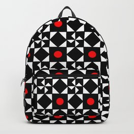 optical pattern 31 Backpack