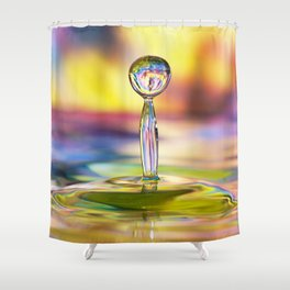 Colorful Splash Shower Curtain