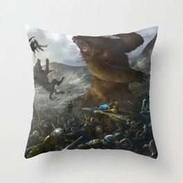 Five Armies Throw Pillow