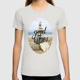 Good Vibes - Rock balancing T-shirt