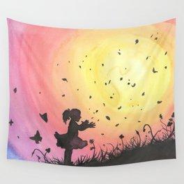 Surrounded By Love / Les Papillons Wall Tapestry