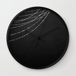 Fairy Lights 03 Wall Clock