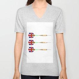 UK Darts Unisex V-Neck