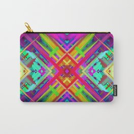 Colorful digital art splashing G475 Carry-All Pouch