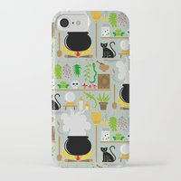 lab iPhone & iPod Cases featuring Witch's lab by Ana Linea