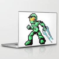 master chief Laptop & iPad Skins featuring master chief by Walter Melon