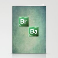chemistry Stationery Cards featuring BrBa chemistry by Nxolab