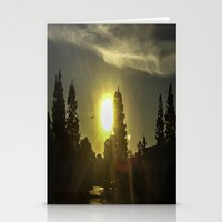 airplanes Stationery Cards featuring Airplanes & Sunshine  by Liese May Photography