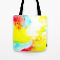 rio Tote Bags featuring Rio by elena + stephann