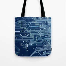 Electronic circuit board Tote Bag