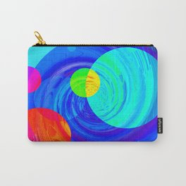 Re-Created Twisters No. 12 by Robert S. Lee Carry-All Pouch