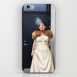 Wedding cigarette iPhone Skin