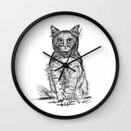 BAT CAT Wall Clock