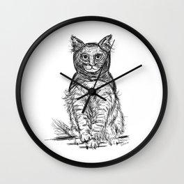 BAT CAT Wall Clock