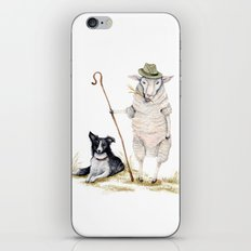 Sheepherd Sheep iPhone & iPod Skin
