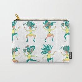 Little dancing shamans print Carry-All Pouch