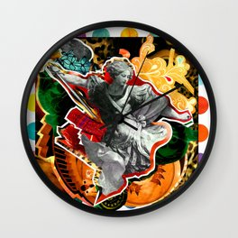 São Miguel Arcanjo (Archangel Michael)   Wall Clock