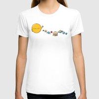 planets T-shirts featuring Planets by awkwardyeti