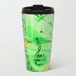 Buddha Green Travel Mug