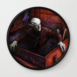 Dracula Nosferatu Vampire King Wall Clock