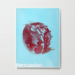 Symphony Series: Percussion Metal Print
