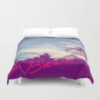 bleach Duvet Covers featuring Sun Bleached by Ben Geiger