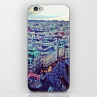 vienna iPhone & iPod Skins featuring Vienna by SandraHuezo