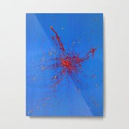 Azul Metal Print