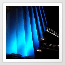 Exotic Blue Art Print