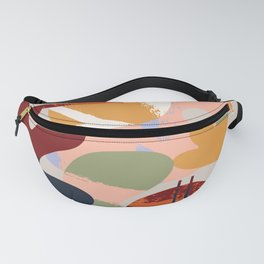 Mid-Century Shapes Fanny Pack