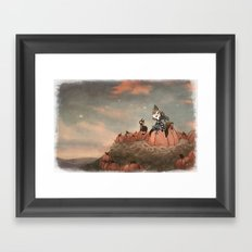Harvest Noon Framed Art Print
