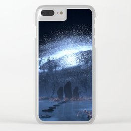 The Standing Stones Clear iPhone Case