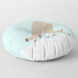 Slippery Floor Pillow
